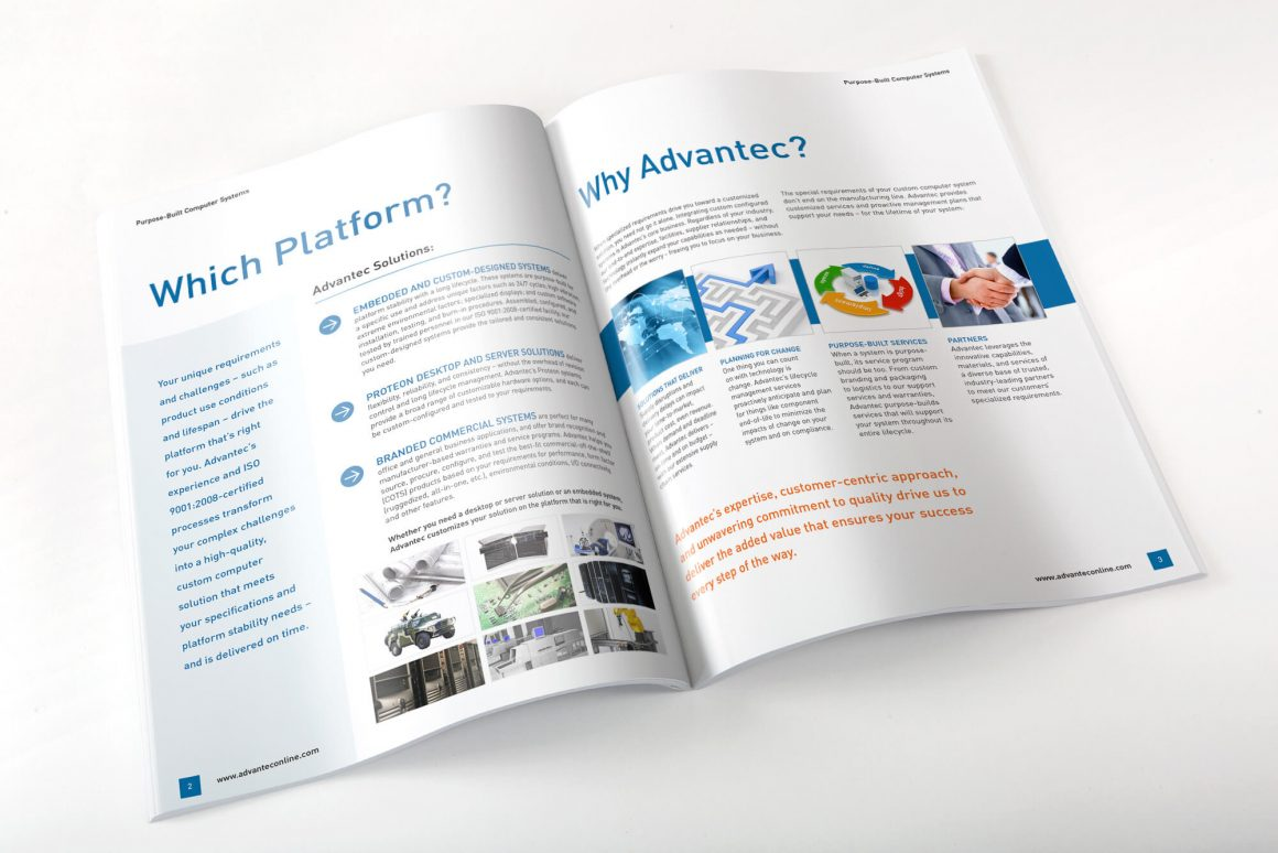 Boston Graphic Designer Photographer Brochure Design